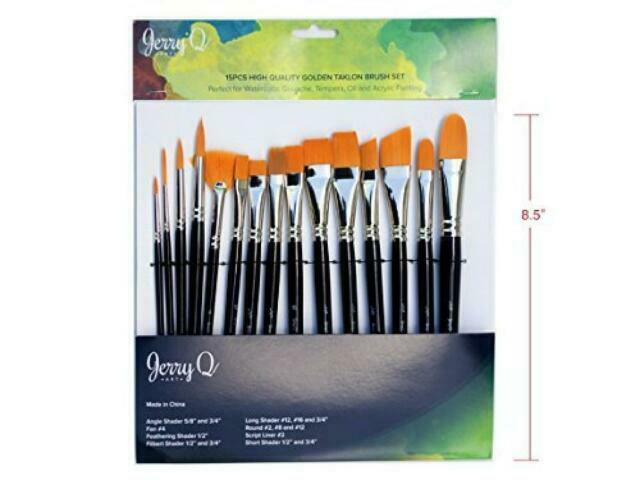 New Excellent Condition new in original package 4 New Paint Brushes Supplies Painting