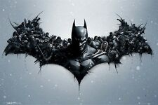BATMAN ARKHAM ORIGINS ~ BAT SIGNAL GANG 24x36 VIDEO GAME POSTER NEW/ROLLED!