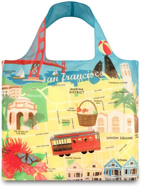 LOQI URBAN Shopper Tasche SAN FRANCISCO - LOQI URBAN Shopper Bag SAN FRANCISCO