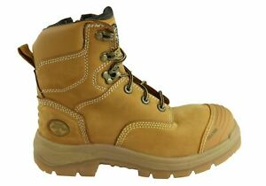 NEW-OLIVER-MENS-AT-55332Z-LACE-UP-ZIP-SIDE-STEEL-CAP-WORK-BOOTS