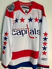 Reebok Premier NHL Jersey Washington Capitals Team White Winter Classic sz SMALL