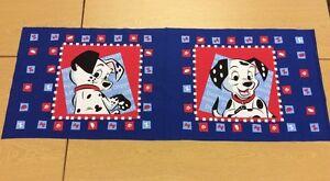 Disney-101-Dalmatians-Kissen-Panel-100-Baumwolle-Stoff-Panels