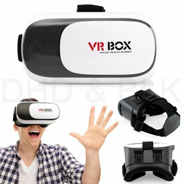 Zelfbewust New Vr Headset Box 2.0 Virtual Reality 3d Glasses For Smart Phones Met De Nieuwste Apparatuur En Technieken