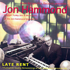 Hammond, Jon-Late Rent CD NEW