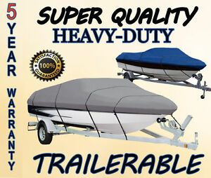 BLUE BOAT COVER FITS WAHOO 1650 TWIN ALL YEARS