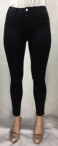 EX-RIVER-ISLAND-BLACK-AMELIE-SUPER-SKINNY-ADDED-STRETCH-RRP-40