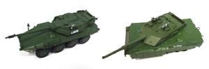 LOT 2 CHARS MILITAIRES 1/72  WW2-ITALY MILITARY ARMY TANK-B1 CENTAURO-C1 ARIETE