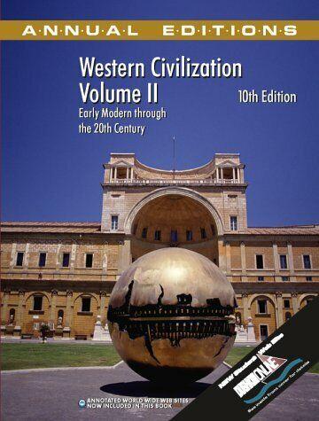 Annual Editions  Western Civilization  Volume II  Annual Editions