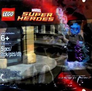 Lego electro minifigure marvel super heroes amazing spider man 2 ebay - Lego the amazing spider man 3 ...