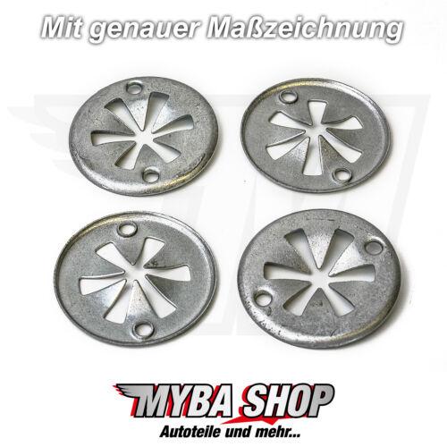 20 Teile Klemmscheibe Motorabdeckung Hitzeschutzblech für Audi VW Skoda Seat