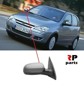 Para-Opel-Opel-Corsa-C-00-06-Ala-Espejo-purgada-Electrico-Climatizada-Derecho-O-S-LHD