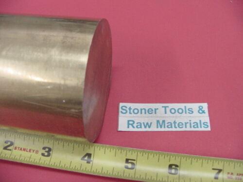 "2-3//4/"" C360 BRASS ROUND ROD 4/"" long Solid 2.75/"" Diameter H02 Lathe Bar Stock"