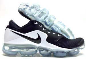 bfe5af90c37 NIKE AIR VAPORMAX BLACK WHITE-METALLIC SILVER SIZE MEN S 12  AH9046 ...