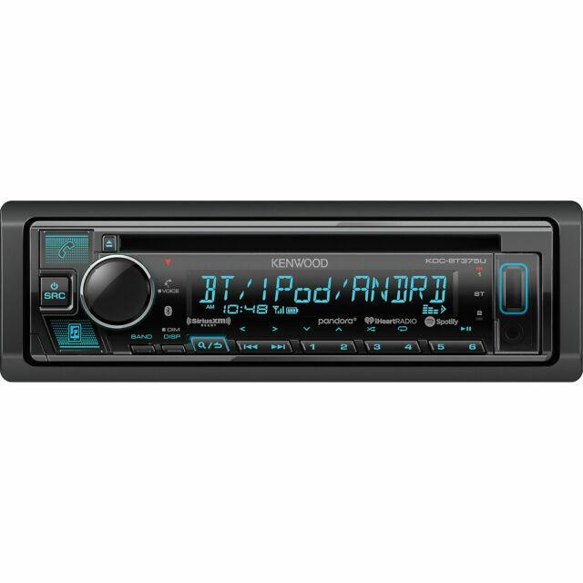 Kenwood KDC-BT375U Car Stereo Radio Bluetooth CD Dash Install Mount Kit