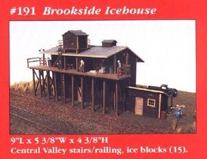 JL Innovative 191 HO Brookside Ice House Wooden Kit