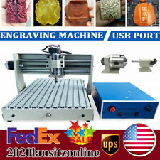 400w Usb 4 Axis Cnc 3040 Router Engraver Diy Carving Milling Machine Woodworking