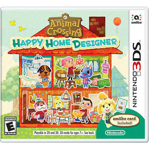 animal crossing happy home designer nintendo 3ds new ebay