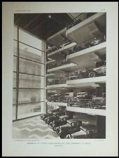 L'ARCHITECTE 1929 PARIS GARAGE MARBEUF CITROEN, MAISON DU JAPON, PIERRE SARDOU