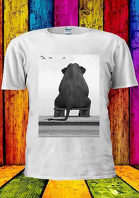 Cute Elephant Heartbroken Poor Swag T-shirt Vest Tank Top Men Women Unisex 1612