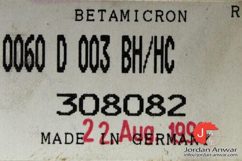 Details about  /HYDAC 0060 D 003 BH//HC PRESSURE LINE ELEMENT