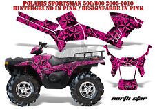 AMR Racing DECORO GRAPHIC KIT ATV POLARIS SPORTSMAN modelli Northstar B