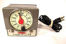 Time-O-Lite M-72 Industrial Photography Darkroom Timer Developing Enlarger Clock
