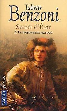 Secret d'etat t.3 : le prisonnier masque von Benz... | Buch | Zustand akzeptabel