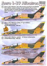 Print Scale Decals 1/72 AERO L-39 ALBATROS Jet Trainer