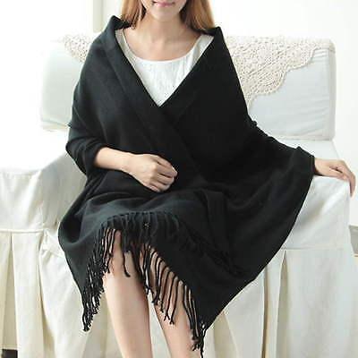 Fashion Girl Lady Soft Long Scarf Pashmina Wrap Shawl Scarves cashmere Wrap OE