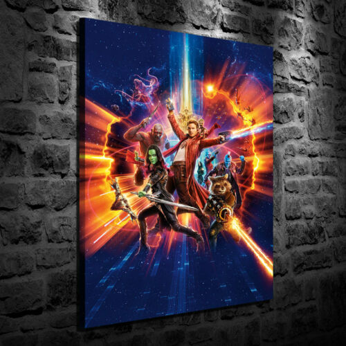 HD Print Oil Painting on Canvas Guardians of the Galaxy II Multiple Size Options