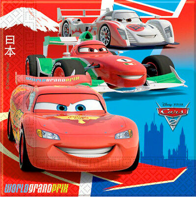 Disney Pixar Cars Lightning McQueen Birthday Party Tableware