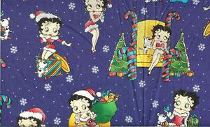 OOP-BETTY-BOOP-CHRISTMAS-ON-BLUE-BTFQ-18-034-X22-034