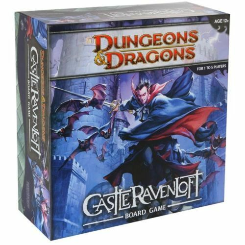 Castle Ravenloft Board Game - Dungeons & Dragons - D&D  New