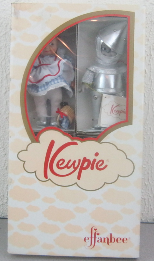 Effanbee Kewpie Wizard of Oz 8  Doll Set (4) Piece