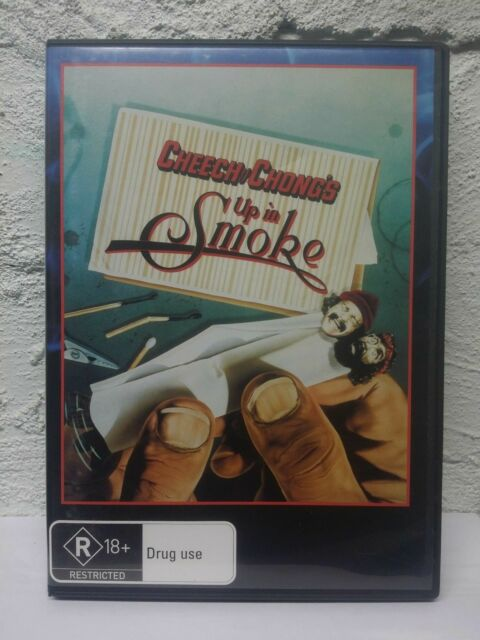 Cheech And Chong's Up In Smoke (DVD) R18+ Movie_REGION 4 - French Subtitles, Eng