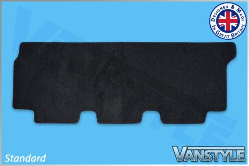 VW T6 TRANSPORTER 15 TWIN REAR DOOR BENCH BLACK TAILORED CARPET FLOOR MAT