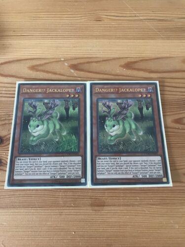 Jackalope CYHO-EN085 Ultra Rare Mint Condition Mixed Editions Danger!