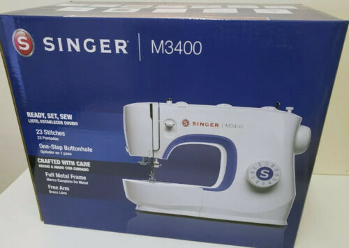 NEW SINGER M3400 Sewing Machine 23 Built-In Stitches and Accessories SHIPS ASAP