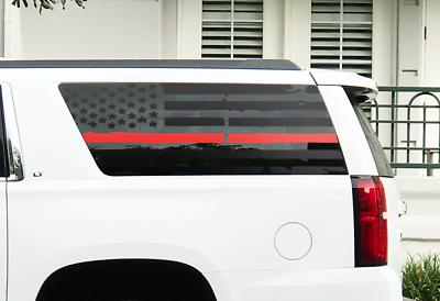 Custom Design QR1-GX1.A USA Flag Decals For 2010-2020 Lexus GX460-3rd Windows