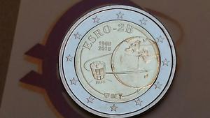 2 euro 2018 fdc BELGIO ESRO 2B Belgium Belgique Belgie Bélgica Belgien Бельгия