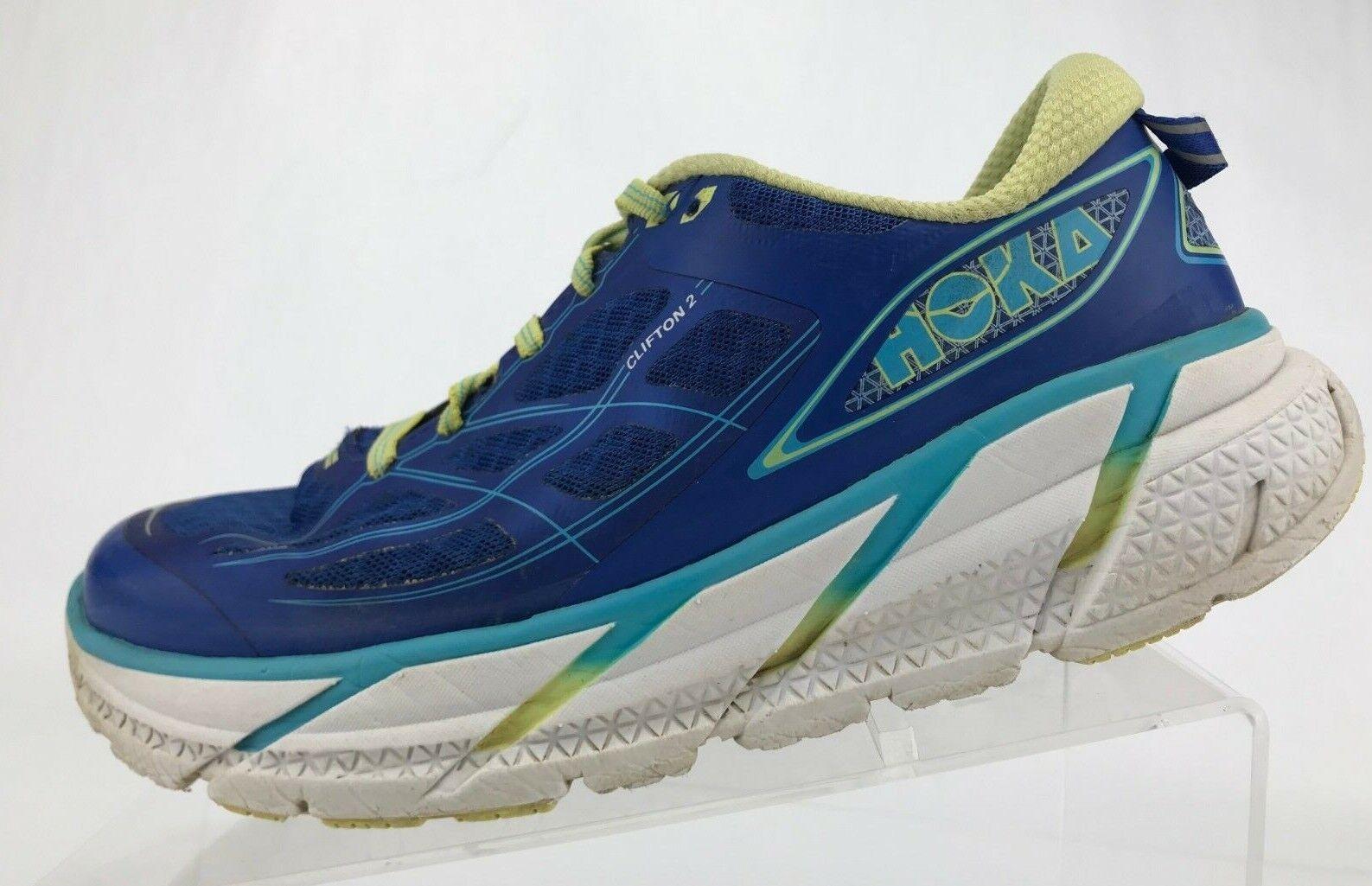 Hoka One One Clifton 2 Running Turnschuhe Blau Training Fitness schuhe damen 8