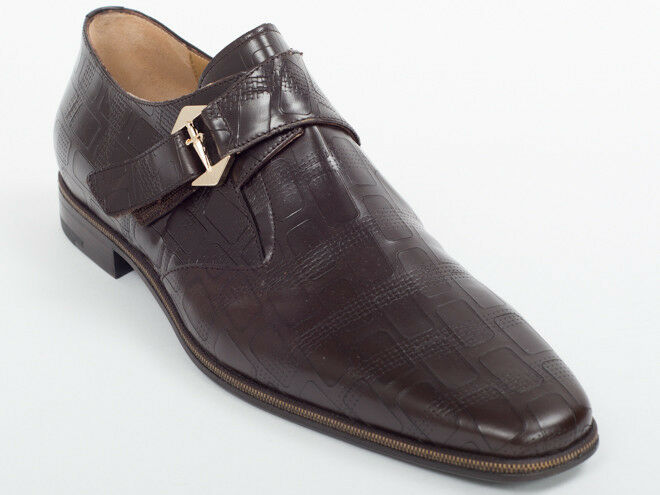 New  Cesare Paciotti Brown Leather Shoes US 12 Retail   695