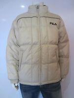 Fila Winter Jacket [size M / 50 ] Outdoor Beige & Vintage