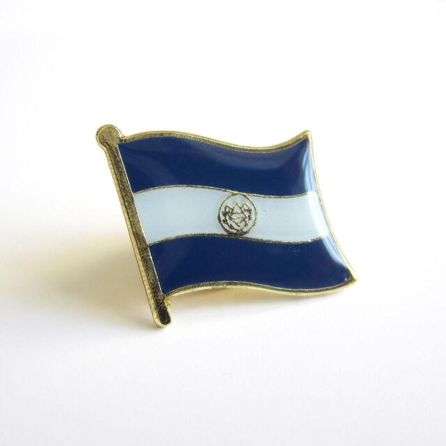 Wholesale Pack of 24 USA American El Salvador Friendship Flag Hat Cap lapel Pin