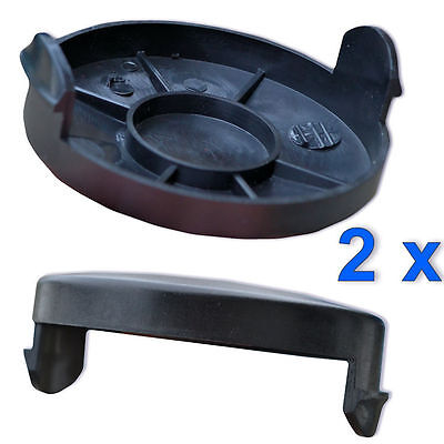 3 Spule 1 Haube passend für ALDI Gardenline GLR 450//4 Elektro Rasentrimmer Faden