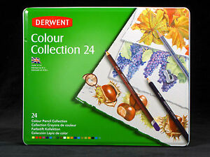 Derwent-Colour-Pencil-Collection-24-Assorted-Media-Starter-Drawing-Set-Quality