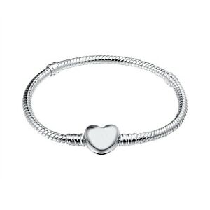 Love-Buckle-Bracelet-chains-bangle-Fit-925-Silver-Sterling-European-charms-Bead
