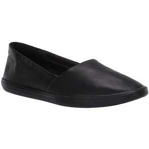 Ecco-Simpil-208603-Leather-Casual-Flat-Slip-On-Womens-Shoes