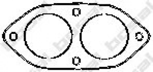 Dichtung Abgasrohr für Abgasanlage BOSAL 256-805