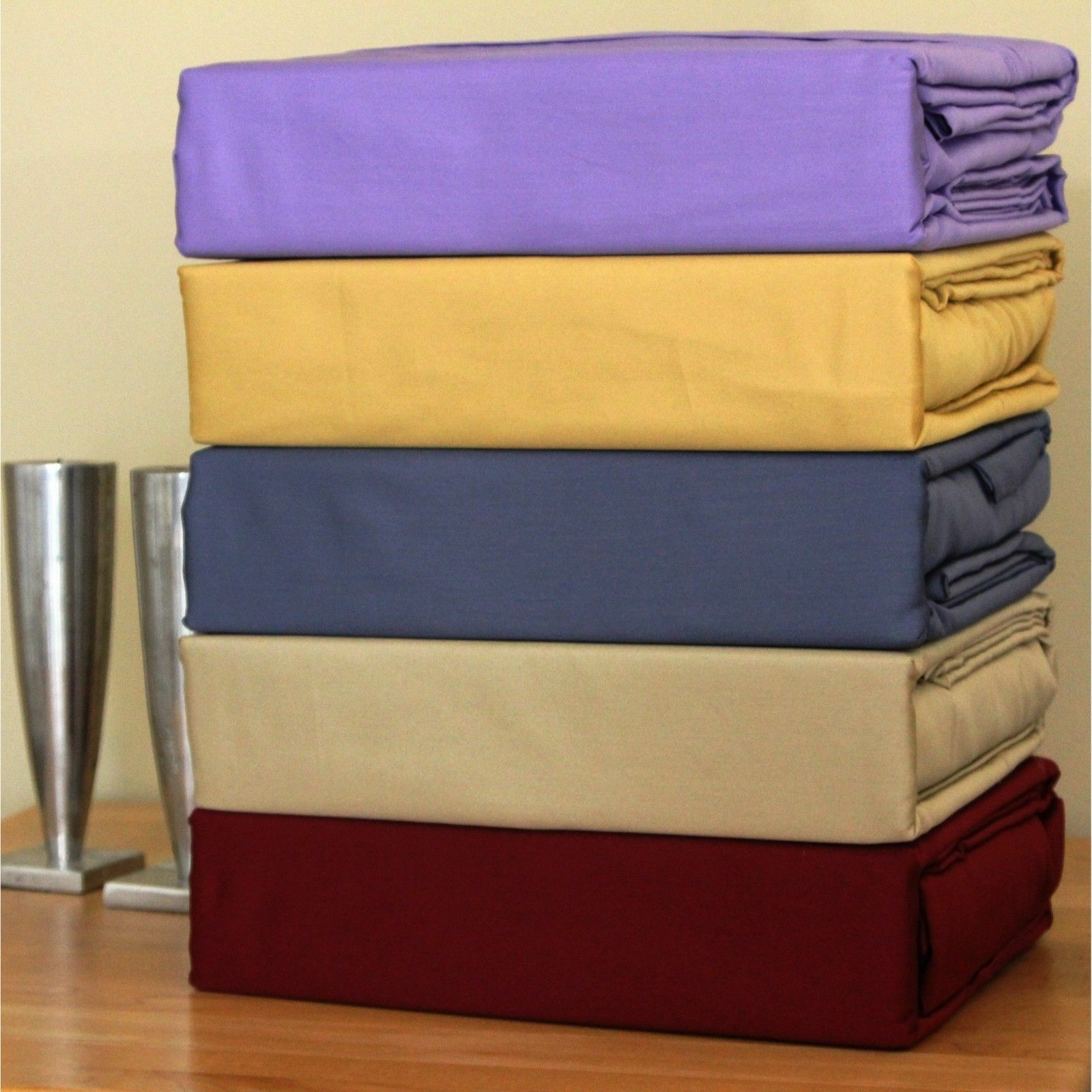 Extra Drop length 1 PC Bed Skirt Egyptian Cotton All colors Olympic Queen Size